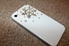 Snowflake Phone Case.