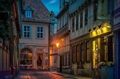 Dusk, Quedlinburg, Germany