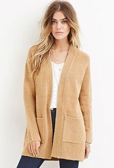 Brushed Loop Knit Cardigan | Forever 21 #foreverfamily