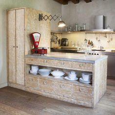 Cucine rustiche Katrin Arens 2-1 - legno riciclato