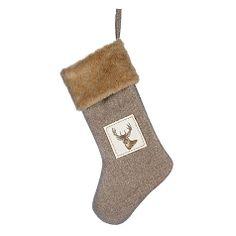 Buy John Lewis Rural Stag Christmas Stocking Online at johnlewis.com