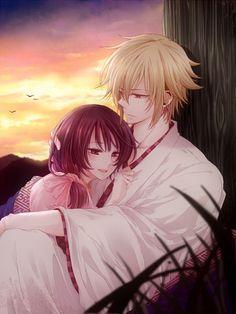 Anime Couple, Hakuouki Shinsengumi Kitan, IDEA FACTORY, Yukimura Chizuru, Chikage Kazama