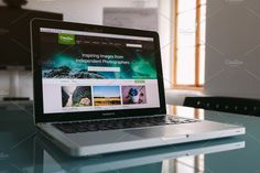 Ad: Creative Market in action by Hombre-cz on MacBook Pro in meeting room. PSD with smart object: Photo Social Media, Technology Photos, Time Running Out, First Contact, Business Branding, Photo Tips, Infographic, Action, Stock Photos