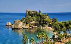 Isola Bella,Taormina, Sicily, Italy