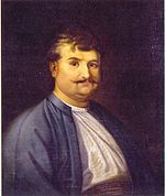 Rigas Feraios (d. 1798), intellectual and revolutionary, is regarded as a forerunner of the Greek Revolution.