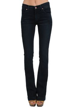 The Juliette Slim Leg Trumpet in Bombshell by James Jeans at CoutureCandy.com