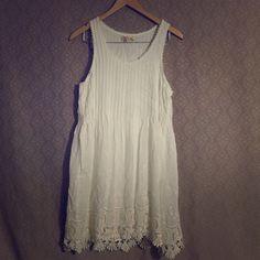 White Spring Dress White Spring Dress, size Large Black Swan Dresses