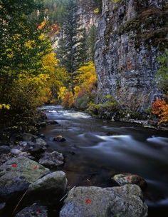 The Logan River, in Utah
