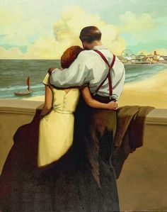 Love, Kisses, Couples, Romance by Jacqueline Osborn Couple Painting, Couple Art, Image Couple, Illustration Art, Illustrations, The Embrace, Fine Art, Figurative Art, Oeuvre D'art