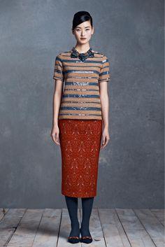 Tory Burch Pre-Fall 2013 Fashion Show - Lina Zhang