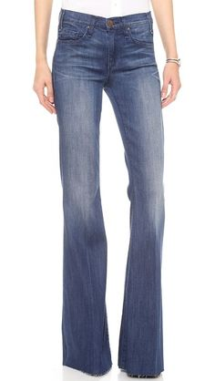 McGuire Denim Majorelle Flare Jeans. Fabric is RE-Form, world's best stretch denim, sucks you in while maintaining shape!