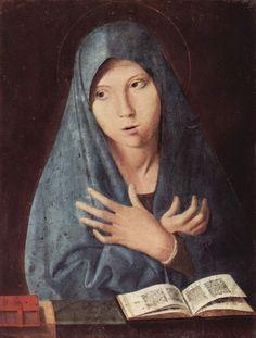 Мария Аннунциата. 1473. Старая пинакотека. Мюнхен