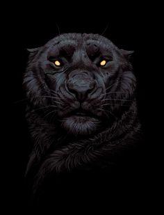 panther, Maria Zolotukhina on ArtStation at https://www.artstation.com/artwork/JPGqa
