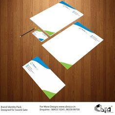 Brand Identity Pack Designed for Swank Gate. Brand Identity Pack, Gate, Packing, Design, Bag Packaging, Portal, Brand Identity Design