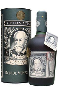 Rum, Rhum e Ron : RUM RON DIPLOMATICO RESERVA EXCLUSIVA CL 70