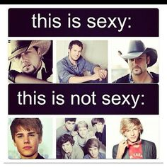 Mmm country boys :)