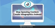 Stop Spewing Content. Create Infographics Instead. via @nealschaffer