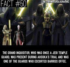Star Wars Facts Star Wars Rebels, Star Wars Clone Wars, Star Trek, Grand Inquisitor, Star Wars Facts, War Film, Star War 3, Random Stuff, Funny Stuff