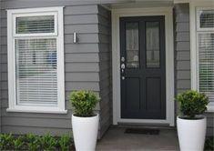 69 Trendy Ideas House Colors Grey Exterior Dream Homes Exterior Gris, Exterior Color Schemes, Exterior Paint Colors For House, House Color Schemes, Paint Colors For Home, Modern Exterior, Colour Schemes, Colour Palettes, Dulux Paint Colours Grey Exterior
