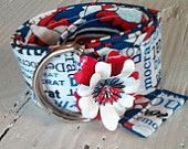 Democrat Boutique Flower Power Belt