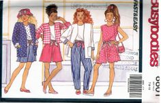 Butterick Busybodies 6601 Sewing Pattern FREE by RegencyCottage, $9.99