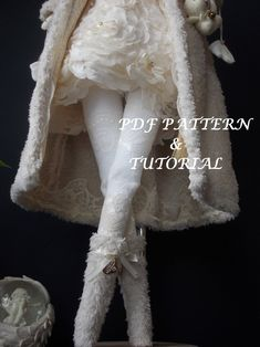 Doll Patterns Free, Doll Clothes Patterns, Pdf Sewing Patterns, Free Sewing, Clothing Patterns, Sewing Art, Doll Making Tutorials, Sewing Tutorials, Sewing Projects