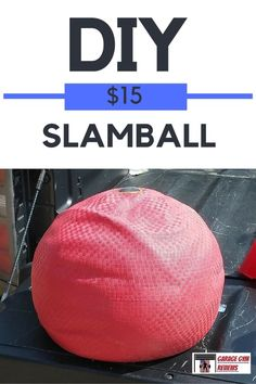 DIY Exercise Equipment Projects - DIY Slamball - Homemade Weights and Strength Training Projects - How To Build Simple and Easy Fitness Equipment, Yoga Mats, PVC Pipe Ideas for Butt Workouts, Strength Training and Do It Yourself Workouts At Home t Crossfit Equipment, Crossfit Gym, Home Gym Equipment, No Equipment Workout, Homemade Workout Equipment, Garage Gym, Basement Gym, Jiu Jitsu, Backyard Gym