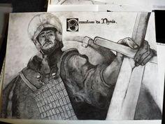 Brancaleone Da Norcia, Lazzaro/ Edu on ArtStation at https://www.artstation.com/artwork/wPyEg