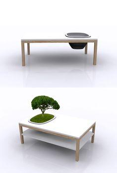 Des tables jardin par Bellila