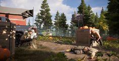 If flying around the Montana wilderness with your trusty dog sounds like a bit too much fun, you can watch the credits roll on Far Cry 5 in just ten minutes.Here's all the non-spoiler-related stuff we know about Far Cry which comes out Tuesday. Dog Sounds, Sounds Like, Far Cry 5, Small Town America, Small Towns, United Kingdom, Crying, Scary, Weird
