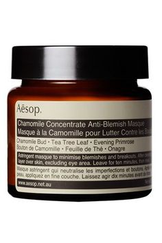 Aesop Chamomile Concentrate Anti-Blemish Masque, £33, available at Aesop. #refinery29 http://www.refinery29.com/international-beauty-brands#slide-2
