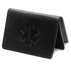 Business Card Case with Star of Life  Great as a small wallet too - I have one just like it in my back pocket at all times
