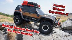 Amazing Off Road Capabilities of RedCat Racing Everest Gen7 Pro RC Rock ...