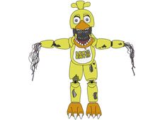 Withered Chica - Five Nights At Freddy's 2 by J04C0 on DeviantArt