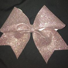 CHEER BOW multicolored sparkly cheer bow Accessories Hair Accessories