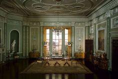 English diningroom, ca 1790. Thorne miniature room, Art Institute of Chicago