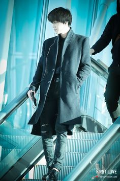 141202- EXO Kai (Kim Jongin); Incheon Airport to Hongkong Airport #exok #fashion