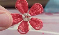 Mekik Oyası Dolgulu Çiçek Yapılışı - https://m-visible.com/mekik-oyasi-dolgulu-cicek-yapilisi.html