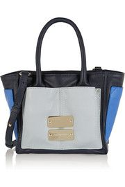 $395 - SEE BY CHLOE - Nellie small color-block leather tote