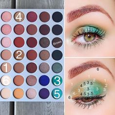 Today's look Morphe Brushes X Jackie Hill Eyeshadow Palette Silk Creme- transition shade Pukey- outer corner crease Jada- all… Jaclyn Hill Palette, Jacklyn Hill Palette Looks, Jaclyn Hill Eyeshadow Palette, Makeup Palette, Morphe Palette, Skin Makeup, Eyeshadow Makeup, Beauty Makeup, Eyeshadows