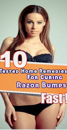 We all want to look beautiful, but sometimes our efforts to fulfill this wish results in negative effect on our skin. Skin Bumps, Razor Bumps, Home Remedies, That Look, The Cure, Beautiful, Home Health Remedies, Natural Home Remedies