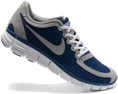 Dmbyu1 Cheap Nike Free 5.0 V4 Men s Shoe Navy/Wolf Grey