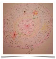 Mandala créatif  par Mana   Atelier Les Couleurs de la Vie