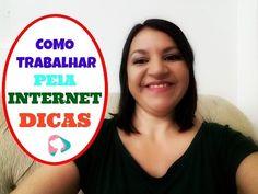 COMO TRABALHAR PELA INTERNET - DICAS | Teresa Tavares