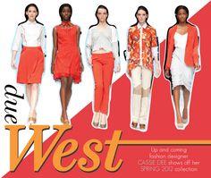 West Coast designer Cassie Dee is on-trend with Tangerine Tango!!