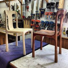 Stephen Harris dining chair reproduction by - Paul Lemiski