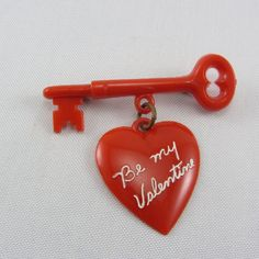 Love this ~ had one like it when I was a kid. My mom use to pin it to my school uniform for me. via The Pink Rose Cottage