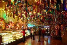 Mi Tierra Cafe and Bakery, San Antonio .... we just love this bakery ! It's always crowded but worth the wait ..be sure to eat in the restaurant too ... the enchiladas are the best we've ever eaten :)