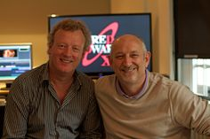 Look who's in the Red Dwarf X edit suite today... master of music Howard Goodall and Red Dwarf legend Doug Naylor!