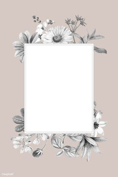 Flower Background Wallpaper, Framed Wallpaper, Flower Backgrounds, Story Instagram, Creative Instagram Stories, Photo Instagram, Cadre Design, Polaroid Picture Frame, Instagram Frame Template